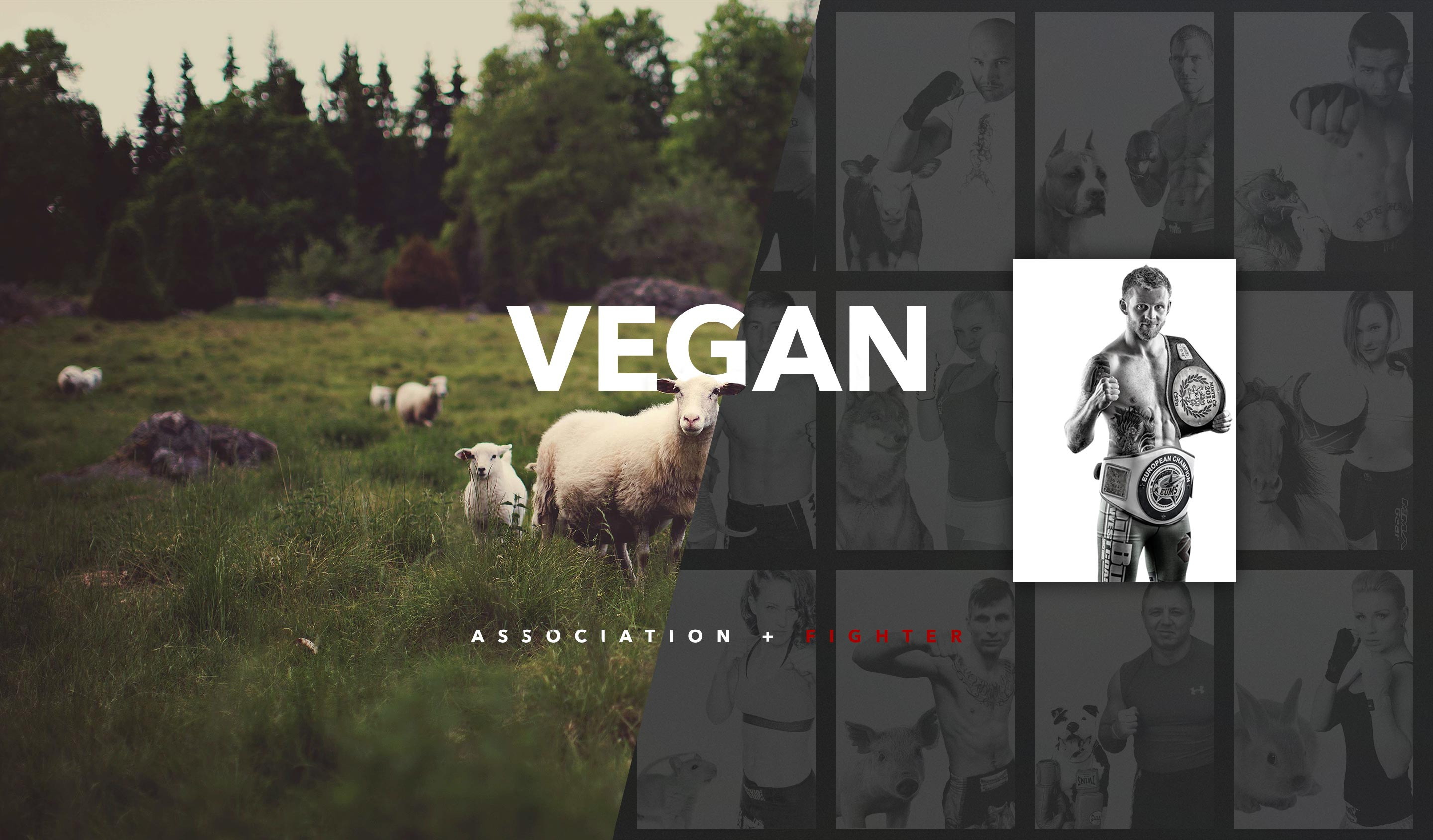 Vegan Association + Vegan Fighter